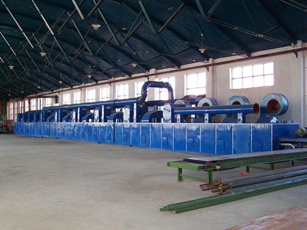 Mesh belt drying equipment